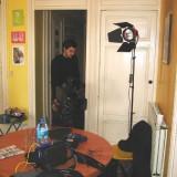 TF1, chez moi. Préparation de l'interview.
