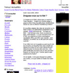 Article & lien Yahoo
