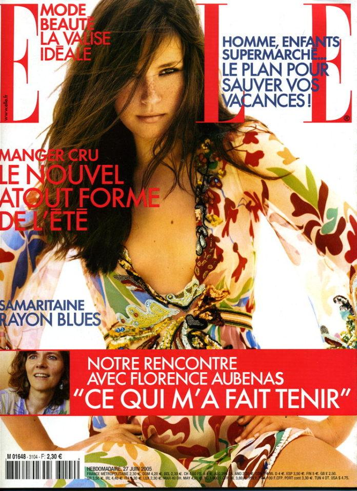Article dans Elle (juin 2005)