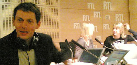 Interview RTL, Marc-Olivier Faugiel.