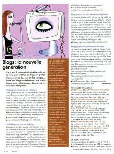 Article Elle juin 2005